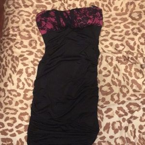 Small body central strapless